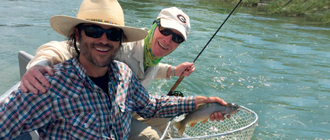 Fly Fishing Guide Service - Montana Llama GuidesMontana