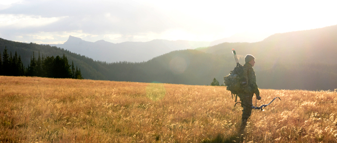 Montana Archery Elk Hunting Outfitter | Montana Llama Guides
