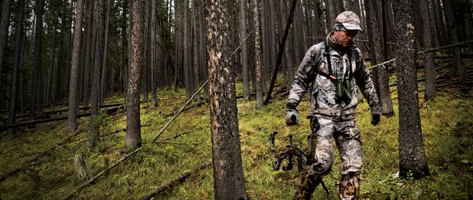 Archery Hunter   Montana Llama Guides